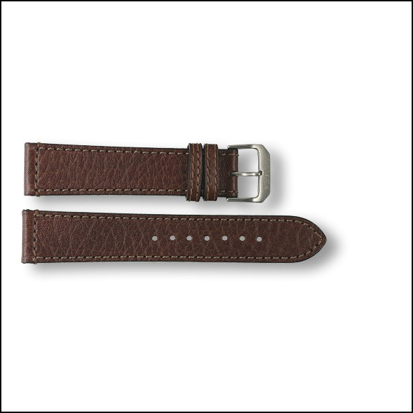 Leather strap Aviator - brown - 20mm